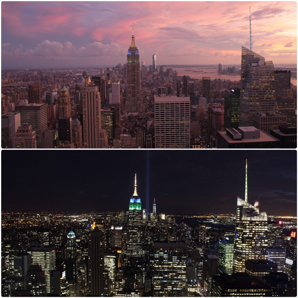 Vistas Empire State Top of the Rock