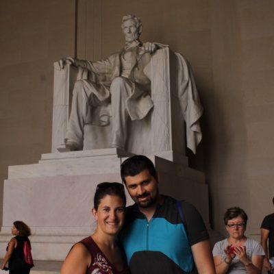 Monumento en memoria de Abraham Lincoln