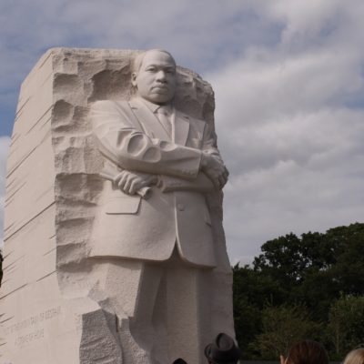 Monumento en memoria de Martin Luther King Jr.