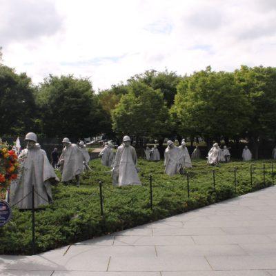 Memorial de los Veteranos de la Guerra de Korea