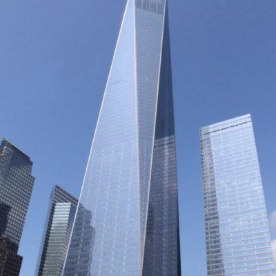 Una de las nuevas torres en el WTC