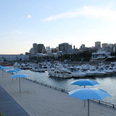 La gran playa de Montreal, pobrecitos jeje
