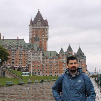 El Château Frontenac de la ciudad de Quebec