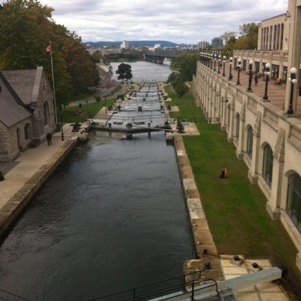 El canal Rideau, Patrimonio de la Humanidad por Unesco