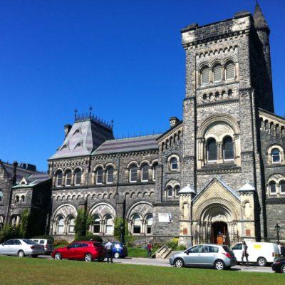 Edificio de la Universidad de Toronto