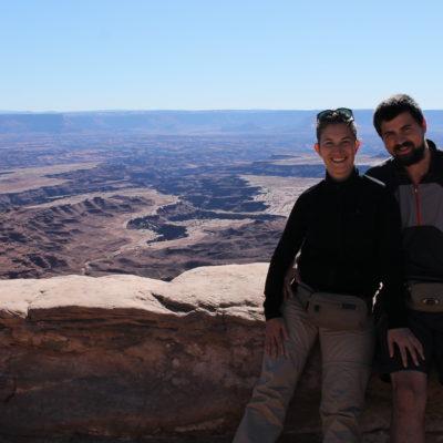 Espectaculares vistas del cañón Buck