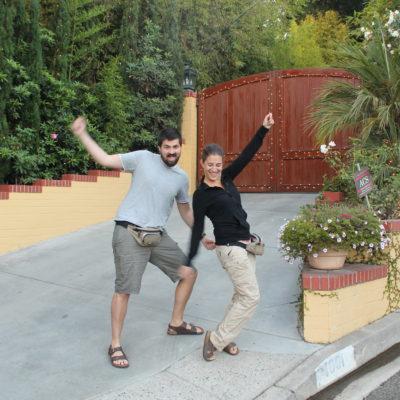 Teóricamente la entrada a una de las casas en donde vivió Elvis