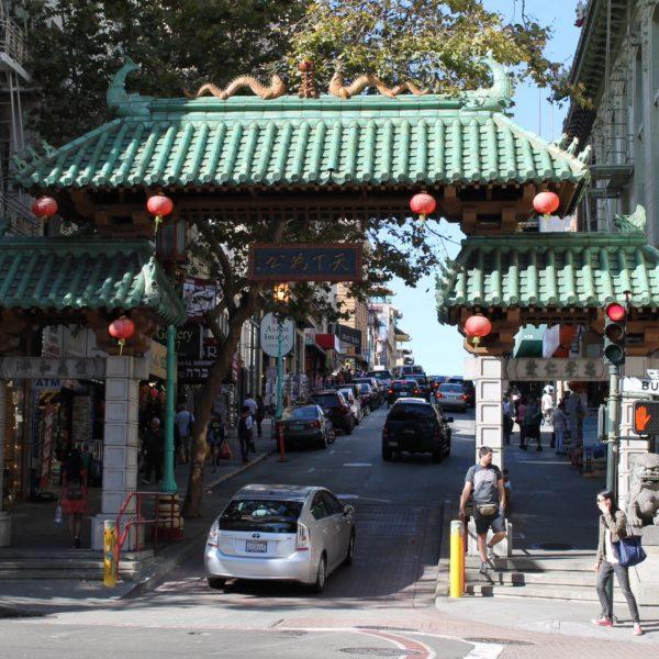 Entrada principal al barrio de Chinatown