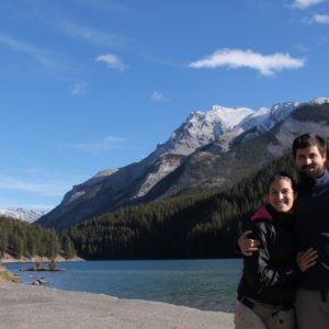 Encontramos la combinación perfecta entre lagos y montañas, por ejemplo aquí, en el Lago Minnewanka