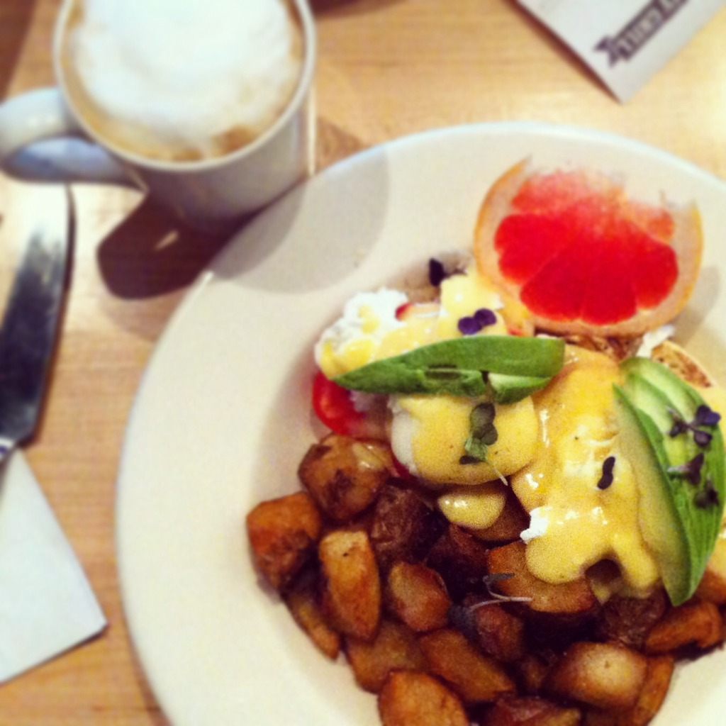 Huevos benedict Calgary