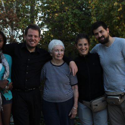 Felices y agradecidos con las familia de West