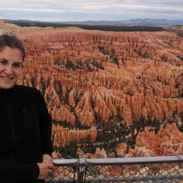 Las espectaculares vistas del anfiteatro de Bryce Canyon desde el sur
