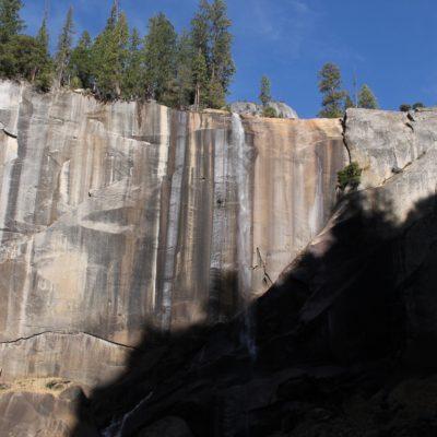 La única cascada que encontramos... No es muy impresionante ¿eh?