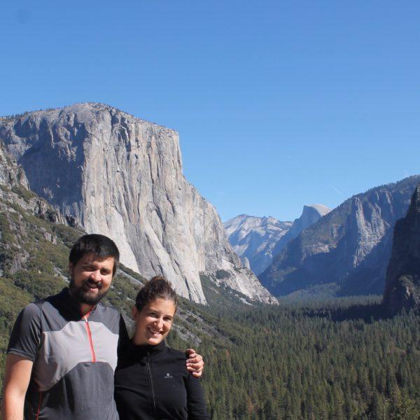 Punto desde donde se ve todo el valle de Yosemite