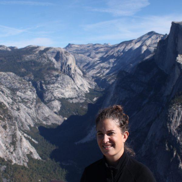 Vista desde arriba del valle de Yosemite