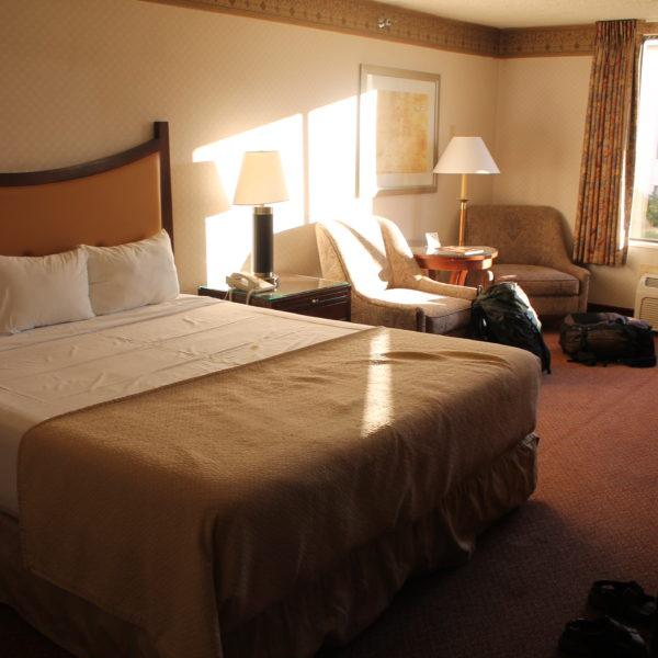 Nuestra habitación que aunque no estaba nada mal, tampoco era nada del otro mundo para ser Las Vegas