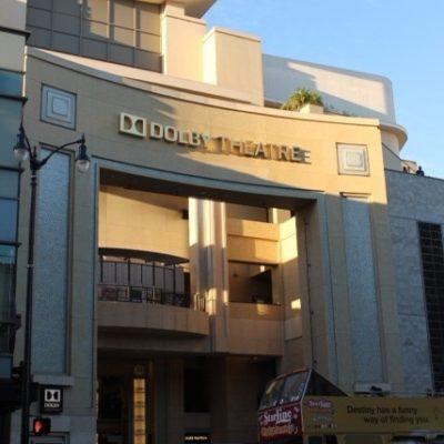 Teatro Dolby donde se celebra la ceremonia de los Oscar