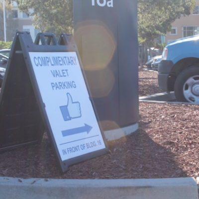 El único signo que encontramos que indicando que estabamos en Facebook