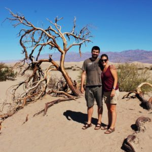 La parte desértica y con dunas de Death Valley