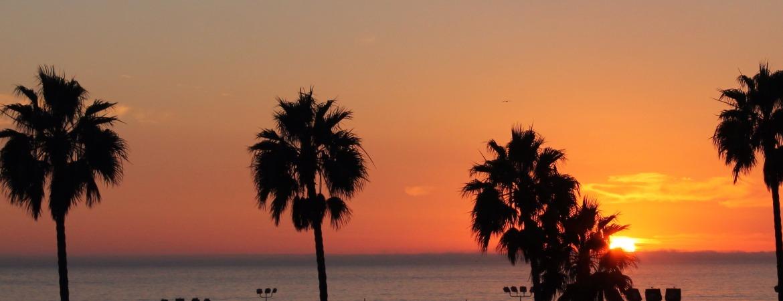 Atardecer Santa Monica