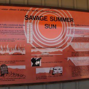 Explicaciones del porque y qué hacer del calor aplastante de Death Valley