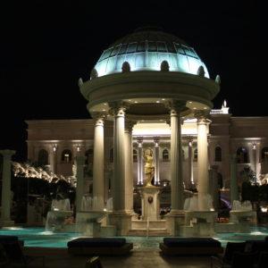 La piscina del Hotel Caesar Palace