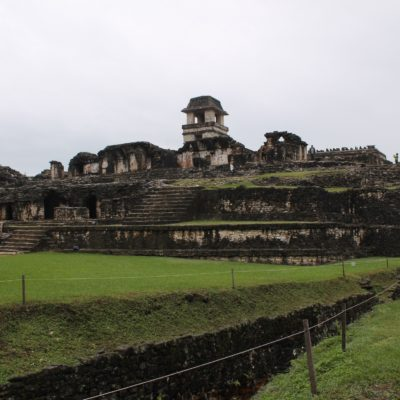 Palacio central de las ruinas
