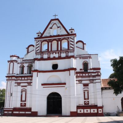 La pequeña iglesia de Chiapa de Corzo