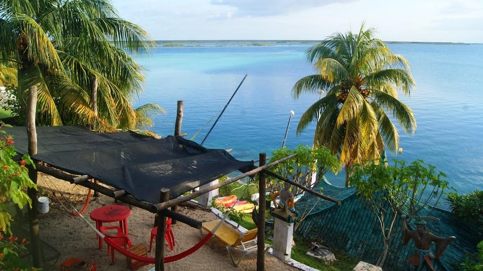 Las vistas desde nuestro hostal (foto de Pam)