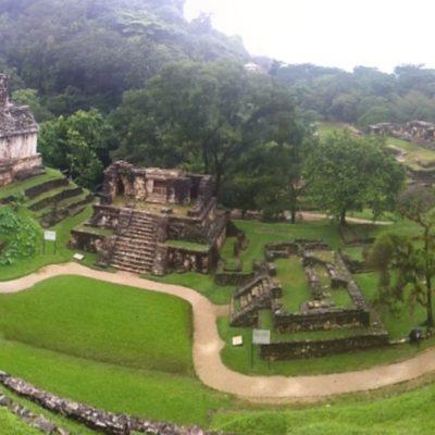 La vista panorámica desde uno de los templos... ¡Nos encantó!