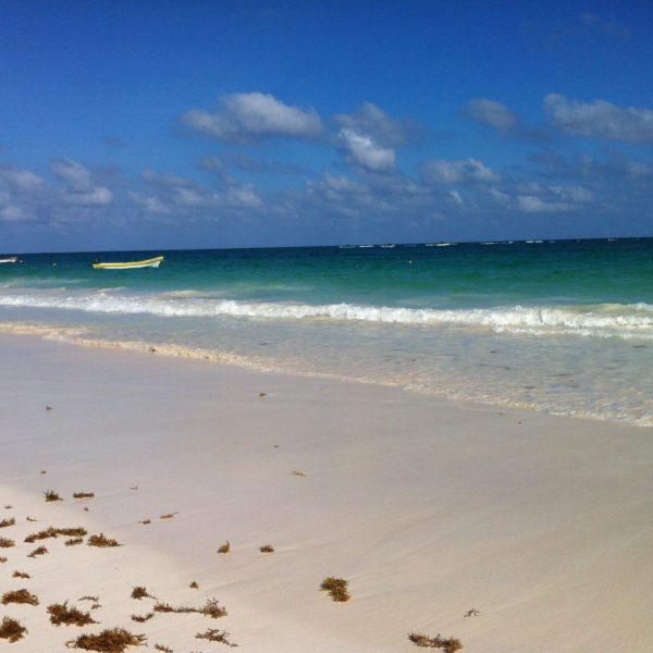 Geniales los colores de la playa