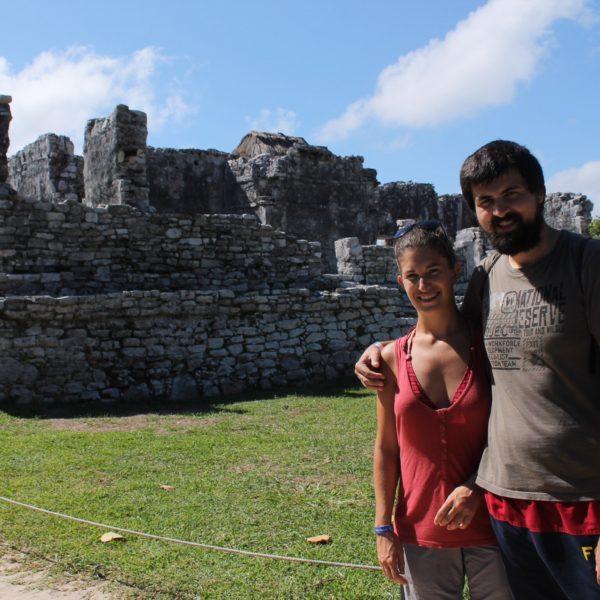 Las ruinas de Tulum... Que no son gran cosa, la verdad