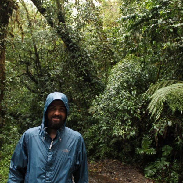 Aunque el paisaje prometía ser bonito, la lluvia no dejaba que disfrutáramos de él al 100%