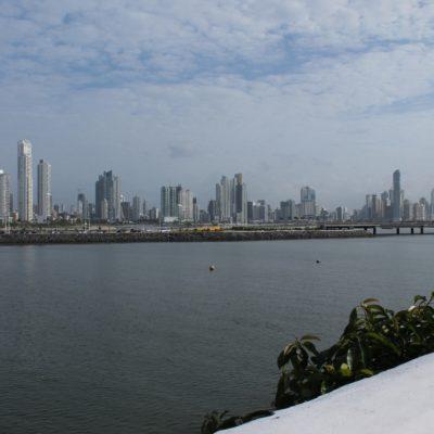 La ciudad nos sorprendió con este skyline estilo Estados Unidos, nada convencional en Centroamérica