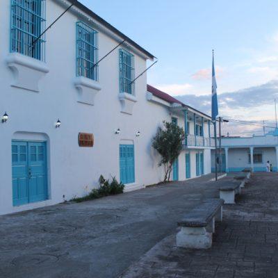 Guatemalteco total el ayuntamiento de Flores