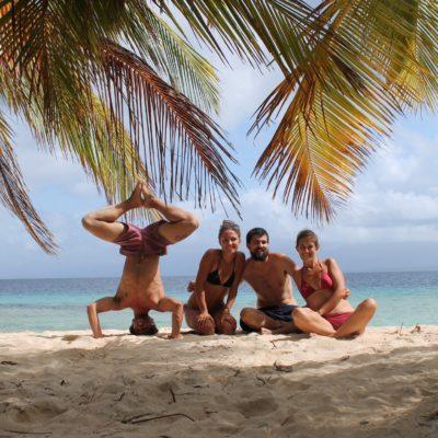 En muy buena compañía pasamos unos días estupendos en la isla