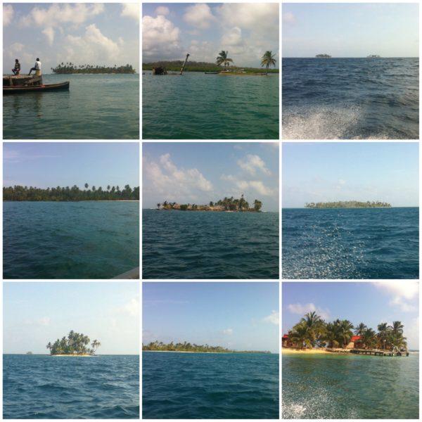 Recopilatorio de algunas de las islas que vimos en el camino