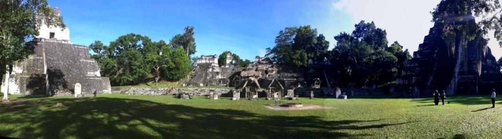 Panorámica Tikal