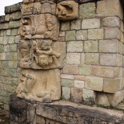 La mayoría de relieves y esculturas están muy bien conservadas