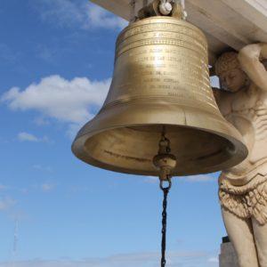 Las campanas también estaban impolutas