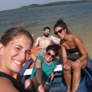 Y por fin pudimos descansar cuando llegamos a la Ilha do Amor, aunque después tendríamos que volver