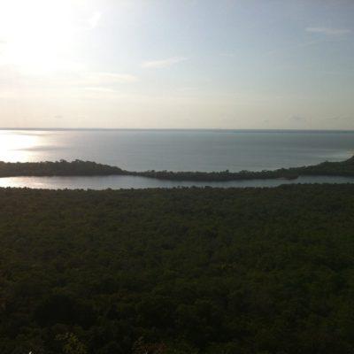 Cuando el río Tapajos va crecido crea pequeños lagos como éste