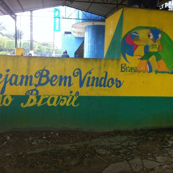 La bienvenida a Brasil