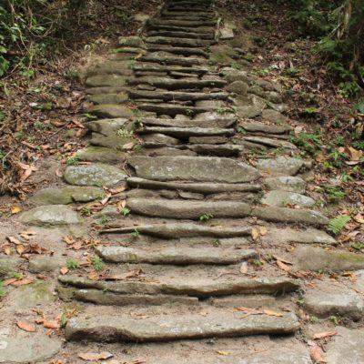 Estas escaleras llevaban a un espacio reservado únicamente para indígenas