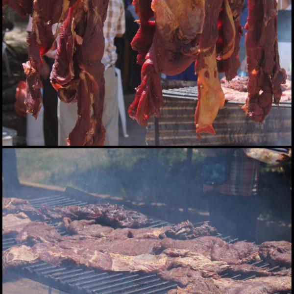 La carne tenía  una pinta espectacular tanto antes de cocinarla, como después