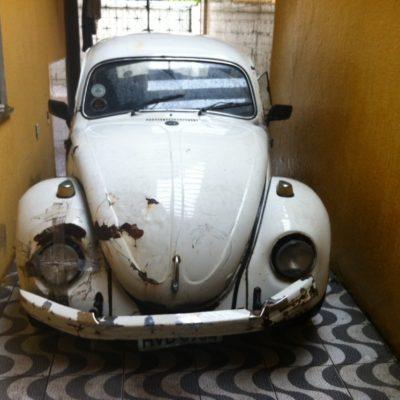 Este genial coche de Crespo nos llevó para aquí y para allá en la ciudad