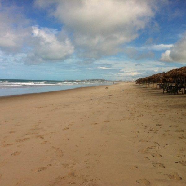 Aunque paseamos por más de una hora en un sentido, no conseguimos recorrer toda la playa