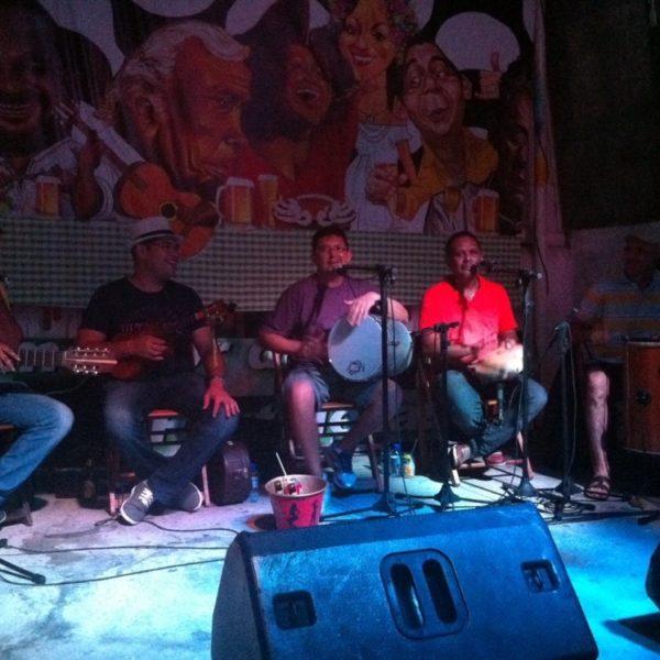 El grupo de samba