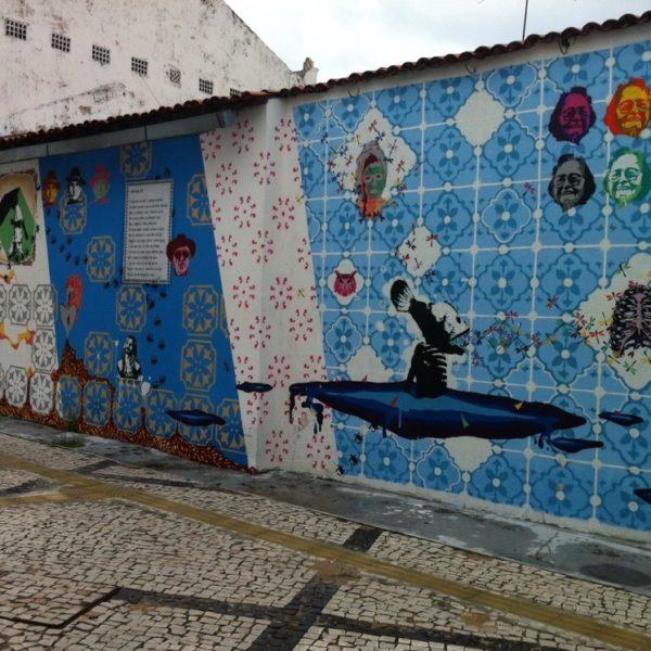 ¿Que os parece este mural de street art?