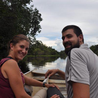 El paseo en barco, aunque no muy fructífero, fue precioso